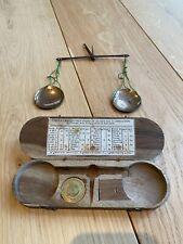 Balance / Trebuchet de bijoutier pour peser les monnaies en or poids  / XVIIIème