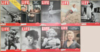 Lot of 17 1954 LIFE- Rita Moreno Churchill Rockefeller Pat Crowley Grace Kelly