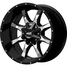 4 - 20x10 Black Wheel Moto Metal MO970 8x6.5 -24