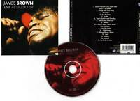"JAMES BROWN ""Live At Studio 54"" (CD) 1999"