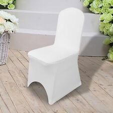 1/10/50/100x Blanc Spandex Lycra Housses de chaise arqué fait de Spandex Lycra