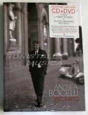 ANDREA BOCELLI - INCANTO -  DVD + CD  Limited Edition SIGILLATO