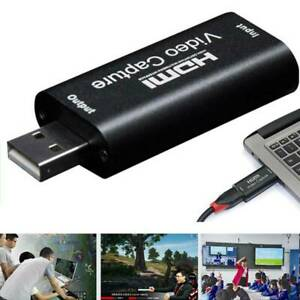 Game Video Live Streaming HDMI Video Capture Card USB 2.0/1080p HD Recorders.UK
