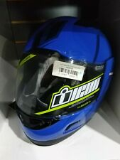 ICON Alliance GT PRIMARY Full-Face Helmet Blue/Black Medium