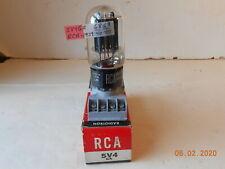 One RCA 5V4GA VACUUM TUBE TV7 TESTED