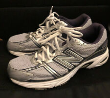 Mens Athletic New Balance Running 470 V2M470WN2 Silver/Blue Size 10 Pre Owned