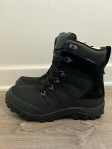 Mens The North Face Chilkat Nylon Boots TNF Black  Waterproof Snow US 10 or 11.5