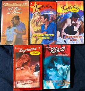 5 Harlequin Temptation Books