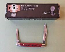Buck 305Cws Lancer Folding Knife 2-Blade Chairman Series – Circa 2009 New