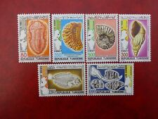Tunesien MiNr TN 1029 - 1034 Komplettsatz Postfrisch Makellos Fossilien