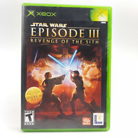 Star Wars: Episode 3 III: Revenge of the Sith (Microsoft Xbox) Complete, Clean