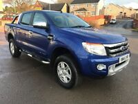 2014 Ford Ranger 2.2TDCi 4x4 Double Cab Limited 2, NO VAT !!!