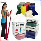 MSD Band Exercise Resistance Fitness Pilates Yoga Rubber Cross Physio Rehab