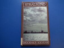 Brockhaus-Souvenir -Stralsund - DDR kleiner Bildband aus 1986  EA