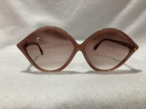 Vintage Silhouette Pink Cat Eyes Sunglasses Austria