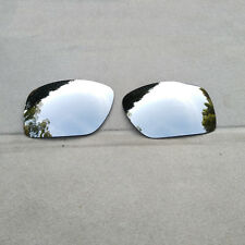 Polarized Silver Mirrored Replacement Lenses for-Oakley Big Taco Sunglasses AU