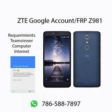ZTE FRP Google Account ZTE ZMAX Pro Z981, N9560, N9137, N9518