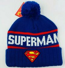 DC Comics Superman Knit Hat - Winter Beanie - New With Tags