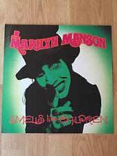 Marilyn Manson Smells Like Children Double Sided Album Flat Display Promo 1995