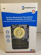 T101 24 Hour 120 VAC 40 Amp Electrical Mechanical Time Switch