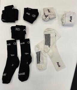 Audi Team DeFeet Aireator Socks - Black, Medium
