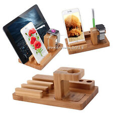 Charging Dock Station Charger Holder Stand For Apple Watch iWatch iPhone X i Pad