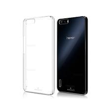 Custodia Cover Slim Trasparente Air Gel Per Huawei Honor 6 Plus + Pellicola