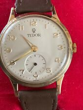 Vintage Rolex Tudor Gold Watch