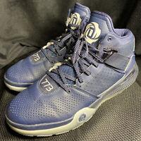 Adidas D Rose 773 IV Bounce Basketball Shoes Men's Size 12 Navy Blue D69428 EUC