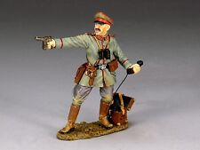 King & Country Toy Soldiers Officer With Pistol And Field Telephone FW050