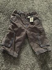 Grey Combat Style Trousers From Mamas & Papas 6-9 Months