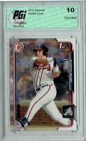 Austin Riley 2015 Bowman #157 1st Rookie Card PGI 10 Atlanta Braves
