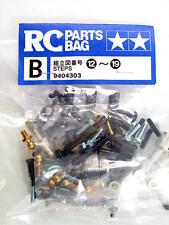 Tamiya Metal Piezas Bolsa B Steps 12-19 9404303 modelado