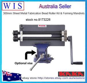 300mm Sheet Metal Fabrication Bead Roller Kit & Forming Mandrels RM12-8173226