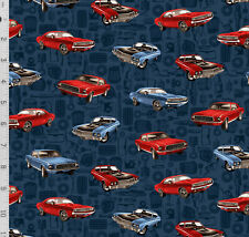 New ListingAmerican Muscle Cars Mechanic Auto Parts Spark Plug Gear Masculine Cotton Fabric
