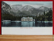 Farbkarte - Prags - Hotel Wildsee  Prager See -Trentino Südtirol -  vor 1906  m1