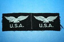 ORIGINAL WW2 USA NATIONALITY RAF ROYAL AIR FORCE TITLES EAGLES