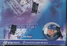 TIE DOMI VERSION 2003-04 ITG TORONTO STAR HOCKEY SEALED BOX
