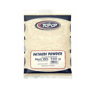 100g Alum / Fatakdi Powder Aluminium Potassium Sulphate Anti-Bacterial Deodorant