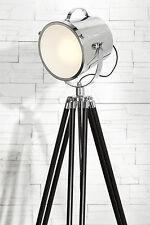 Lampadaire SPOT ALUMINIUM INOX projecteur lumière Hollywood