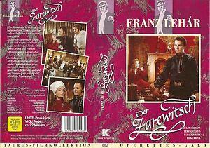 (VHS) Der Zarewitsch - Wieslaw Ochmann, Teresa Stratas, Harald Juhnke  (1973)