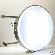 70CM Round Fluorescent Tube Double Sided Outdoor Projecting Light Box Sign Plain