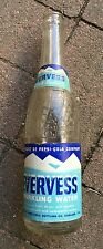Vintage 1940's EVERVESS Pepsi-Cola sparkling water bottle  Nice!!
