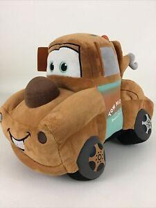 "Gund Disney Tow Mater Plush 12"" Stuffed Animal Toy Radiator Springs Truck"