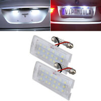 2x License Plate Lights Car Number Lights Lamp For BMW X5 E53 X3 E83 03-10