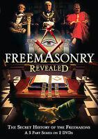 Freemasonry Revealed  2007 2-DVD Set No scratches 188 minutes  Region 1 US