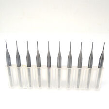 PCB milling cutter 0.5mm milling cutter tungsten carbide 3.175mm CNC Pack of 10