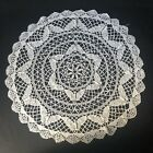 Set+of+Two+16%E2%80%9D+Round+Crocheted+Doilies