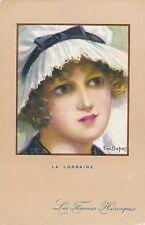 POSTCARD     GLAMOUR  WWI        La   Lorraine                  Dupuis