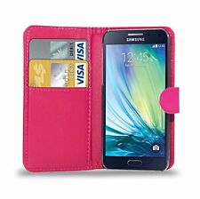 Leather Wallet Flip Case Cover for Samsung Galaxy S3 Neo I9301 Screen Guard White